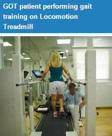 Benefits from therapy to recover locomotion: